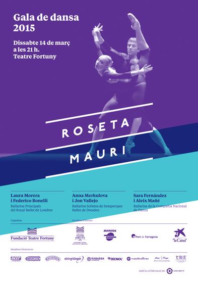 Cartell Roseta Mauri